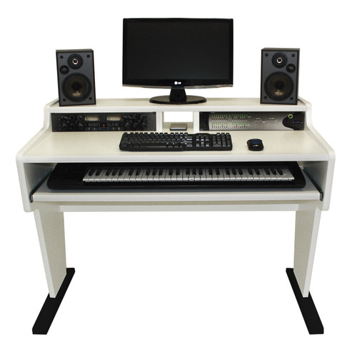 Spike 61 Workstation Desk White