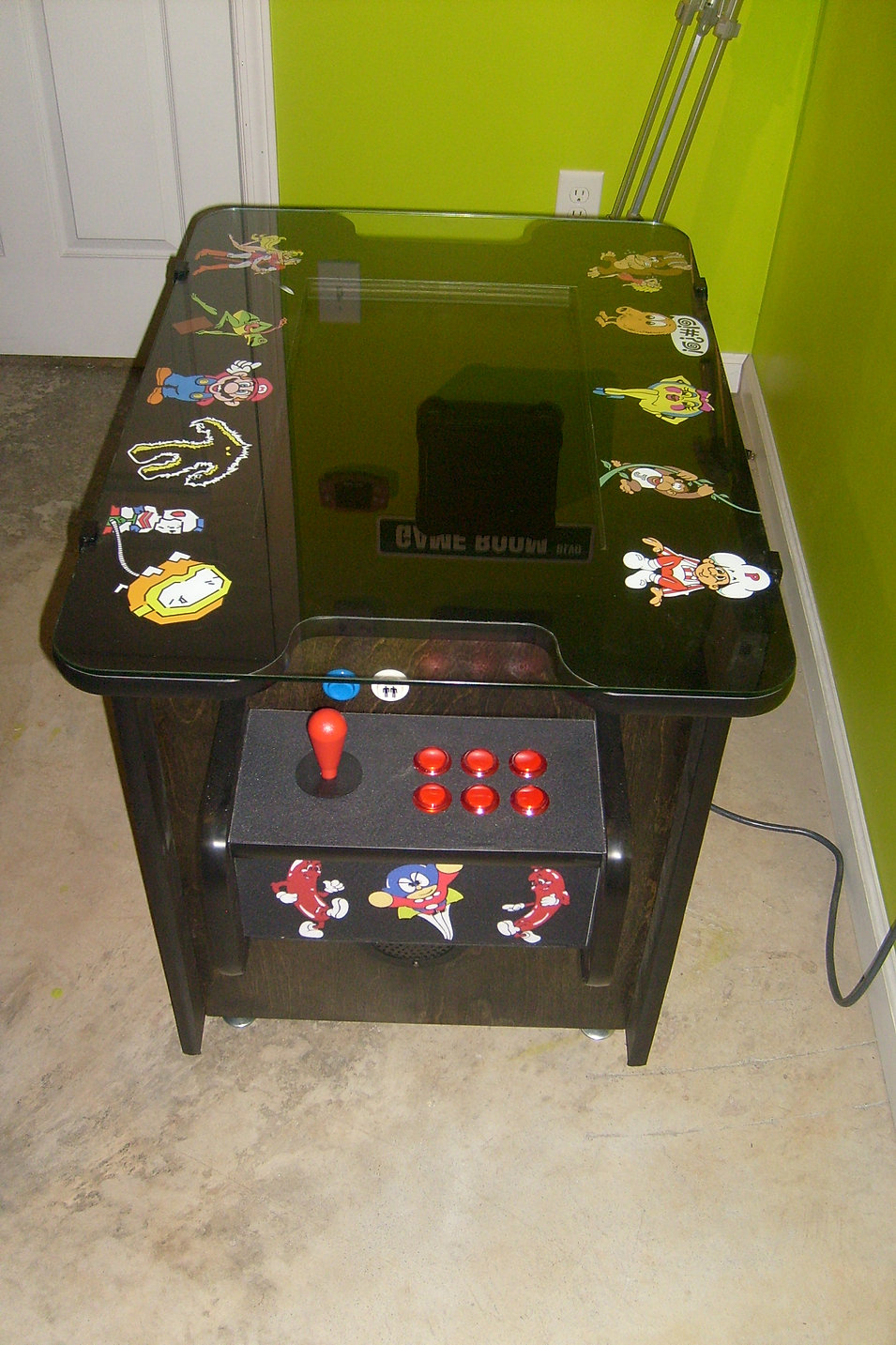 Cocktail Arcade Cabinet Kit Mame Cocktail Arcade