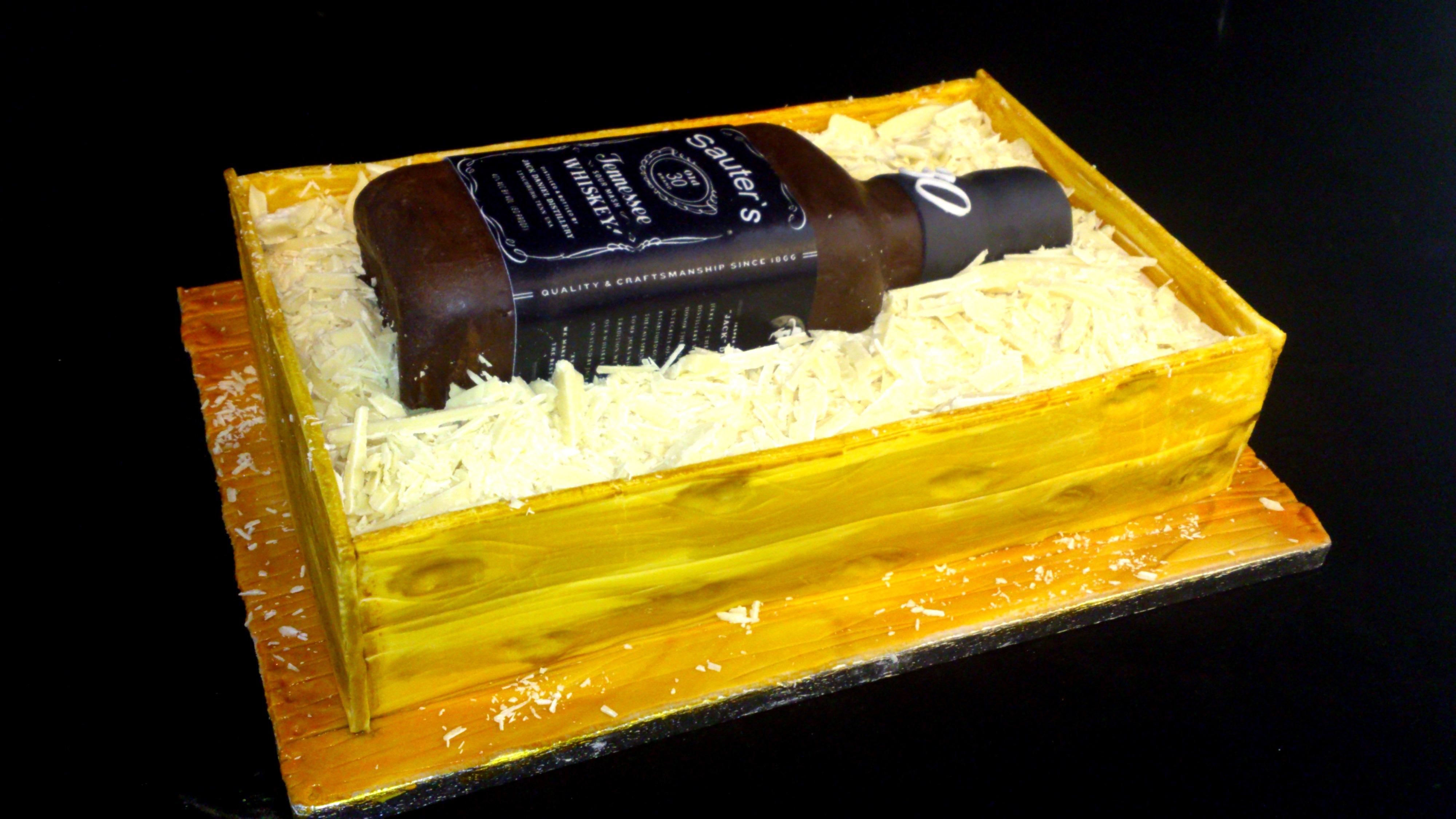 Jack Daniel`s Torte | Die Tortenschneiderin