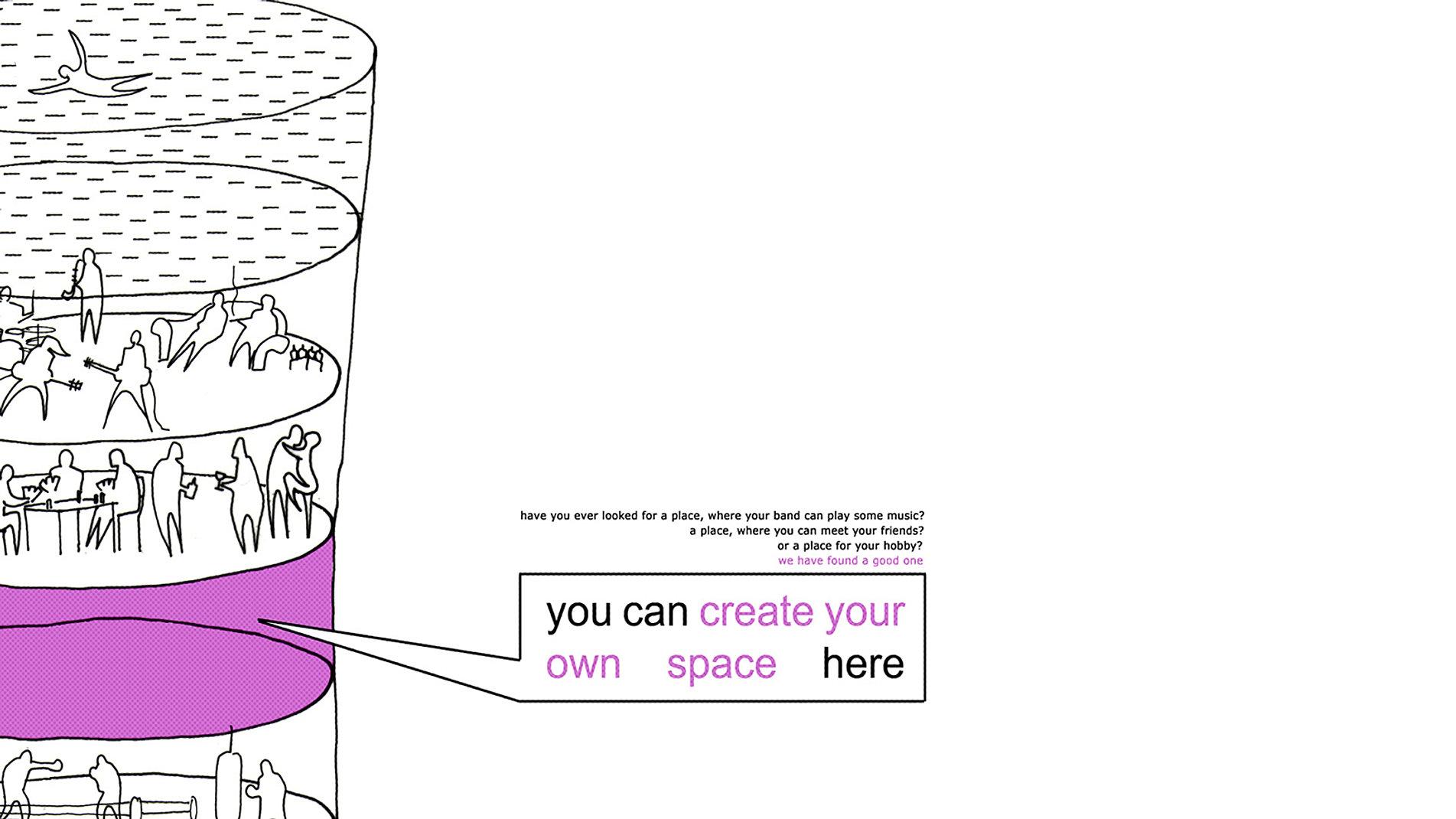 Rafa stachowicz pracownia projektowa create your own space for Design your own space