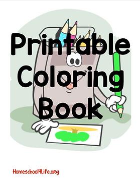 Printable Coloring BookScreen Shot 2020-