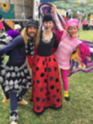 The Jitterbugs performing at Moree Food and Wine Festival