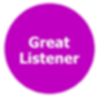 great listener communicator