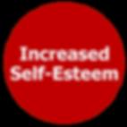 increased self-esteem, self, confident