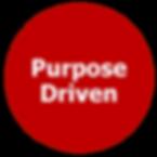 purpose driven goal target oriented