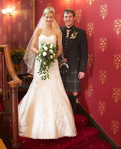 wedding fife lodge hotel banff scotland