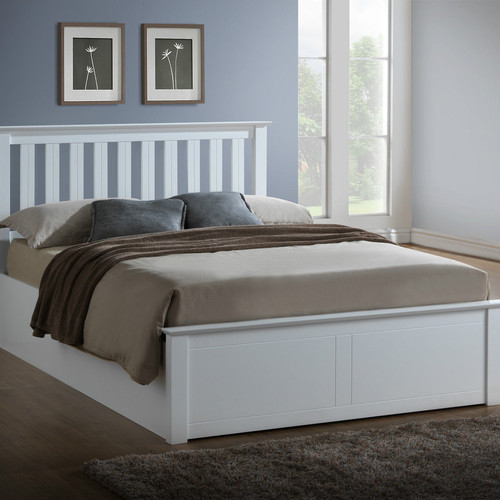Phoenix Wooden Ottoman Storage Bed - FTA Furnishing Nottingham Beds Storage Beds