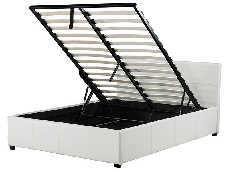 Gas lift storage bed in various sizes and colours memory - Lift up storage bed ...