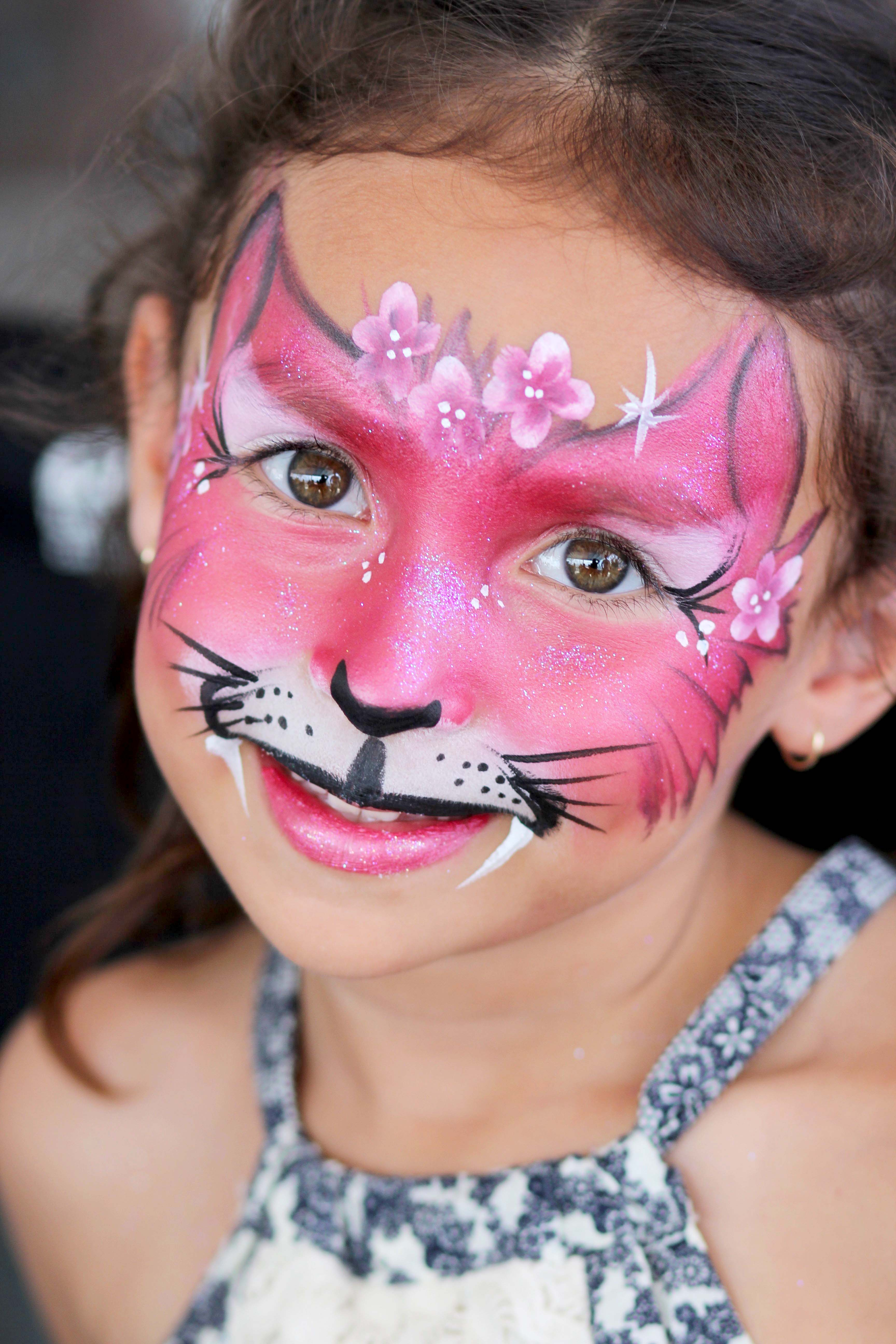 color me face painting orange county