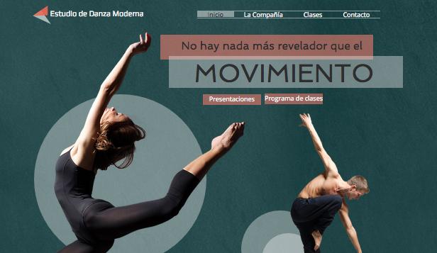 Estudio de danza moderna