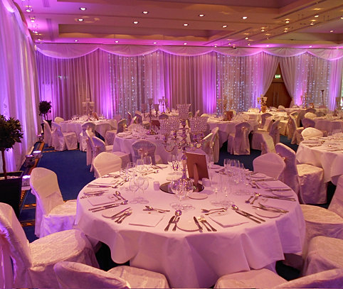 Lough Rynn Castle Mohill Co Leitrim Wedding Decorations