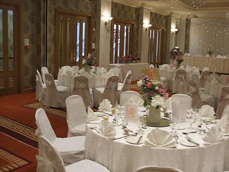Church venue wedding decorations northern ireland ireland lace table linens junglespirit Choice Image