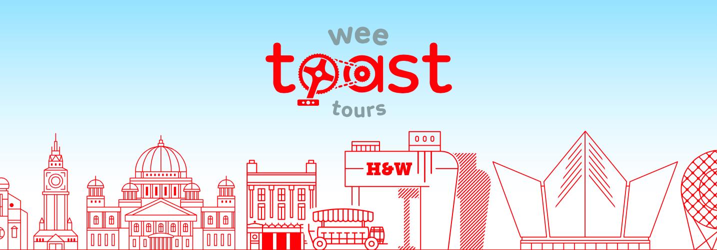Wee Toast Tours Belfast Bike Tours
