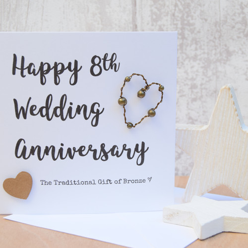 8th 9th 10th and 11th wedding anniversary gifts