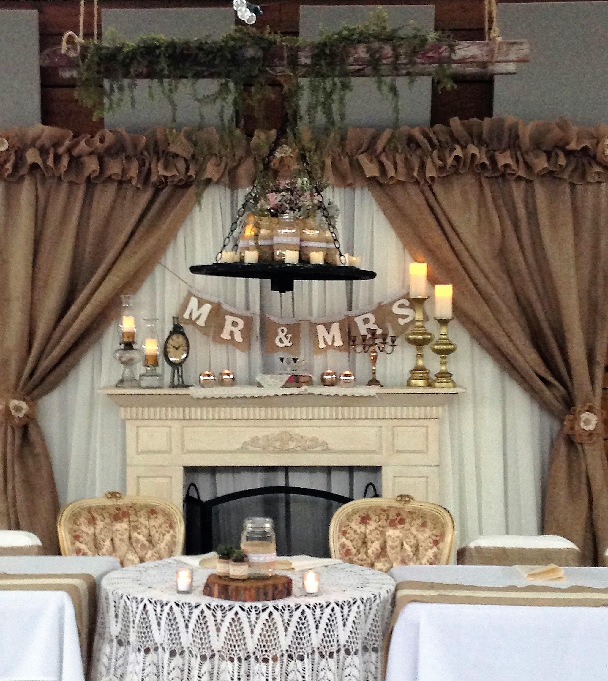 Rustic Vintage Custom Wedding Decorations K Amp Ks