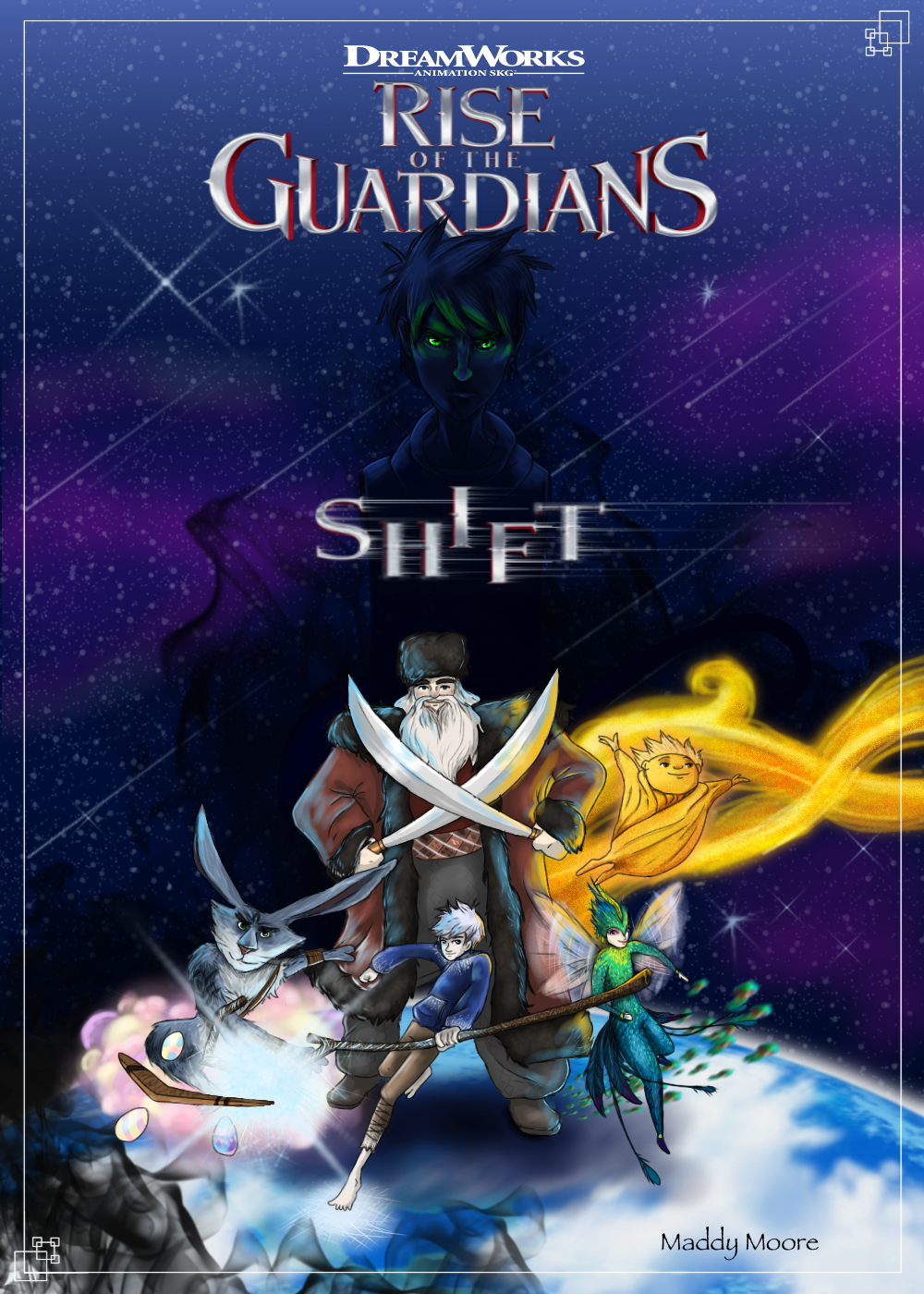 Rise of the Guardians-SHIFT Comic
