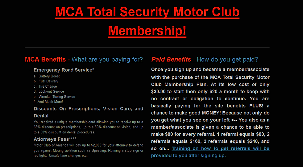 Motor Club of America photo