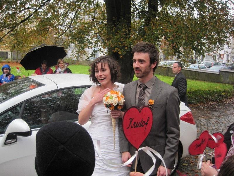 Huwelijk juf Ineke