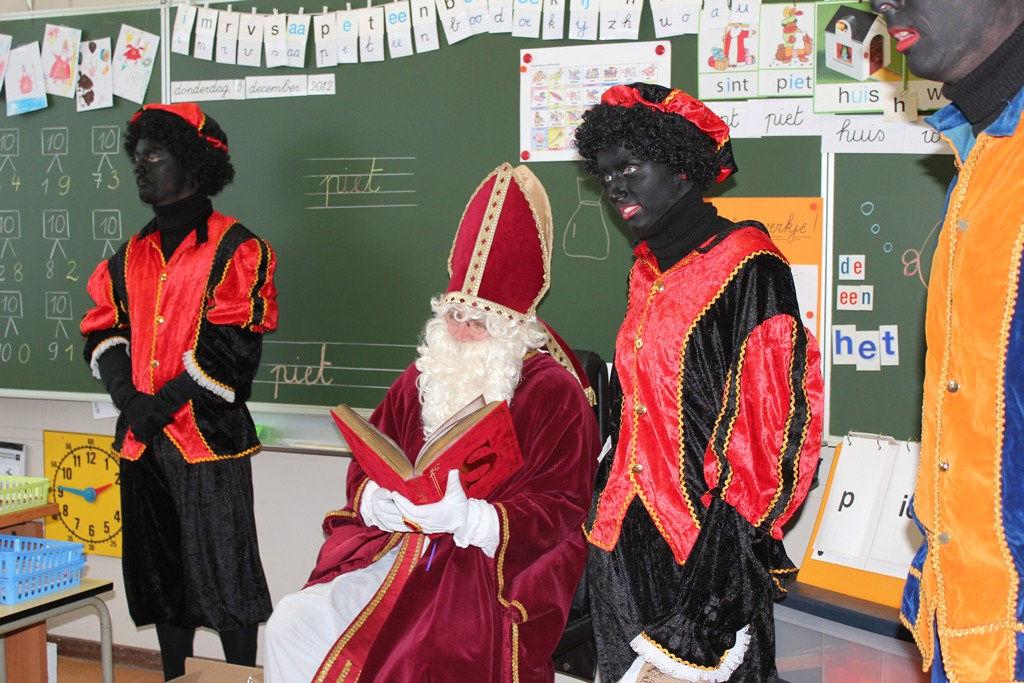 De Sint in onze klas