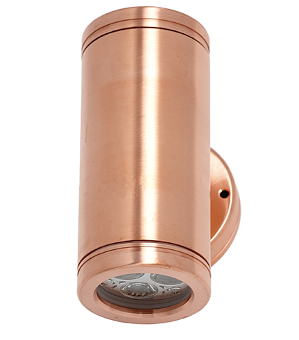 Artistic Lighting Design   LED Two Directional Copper Light