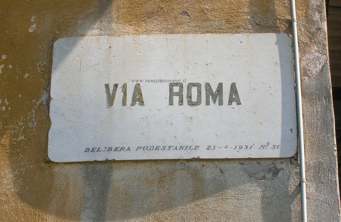 Ventenniooggi Tracce Del Ventennio Fascista In Italia E