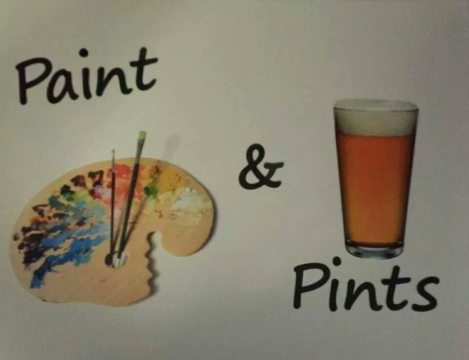 paint and pints art studio