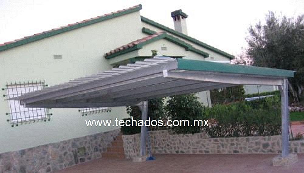 lona con estructura metalica acero galvanizado cubiertas para Quotes