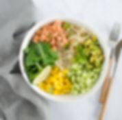recette poke bowl saumon