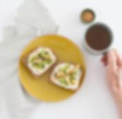 recette tartine healthy