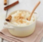 recette riz au lait healthy