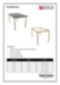 Standard R32 frame spec sheet