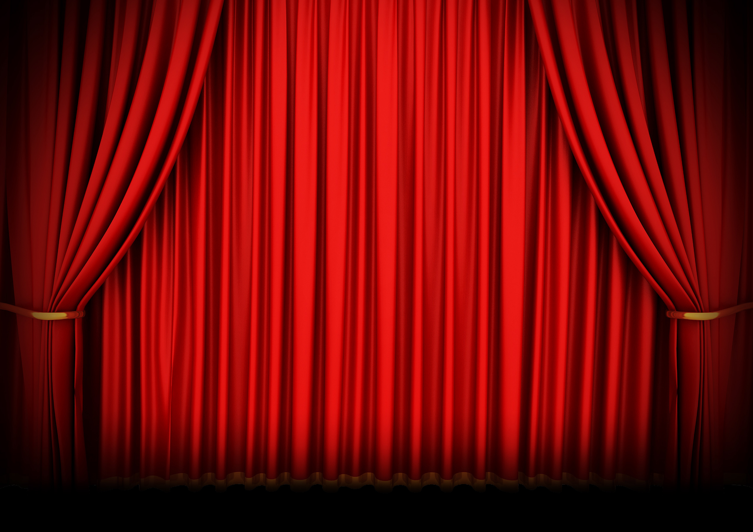 Red stage curtain with lights - Red Stage Curtains Real Red Stage Curtain Theatre Stage Curtain Rod Mysterium Draft Stage Curtains