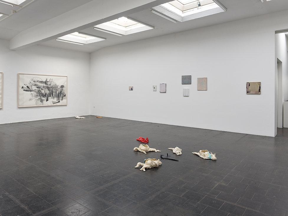 Temporary Gallery, Katja Davar, Markus Saile, Ani Schulze