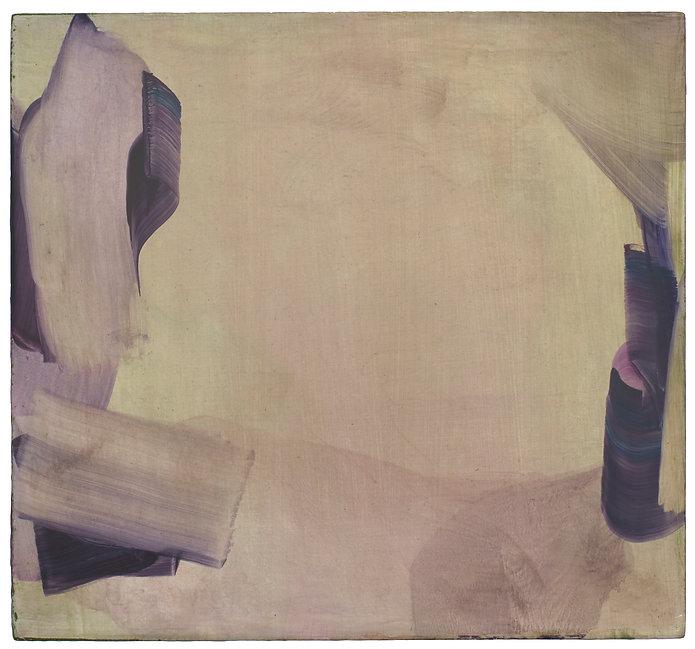 Markus Saile 2018 untitled, oil on wood, 38 x 41cm