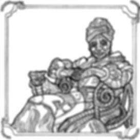 Nina SImone steampunk robot