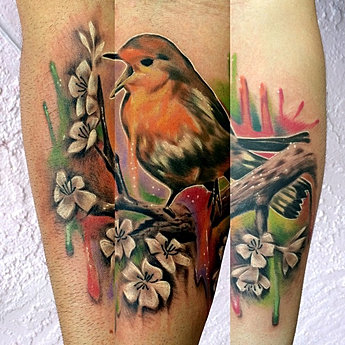 Bird by phil for Endless summer tattoo