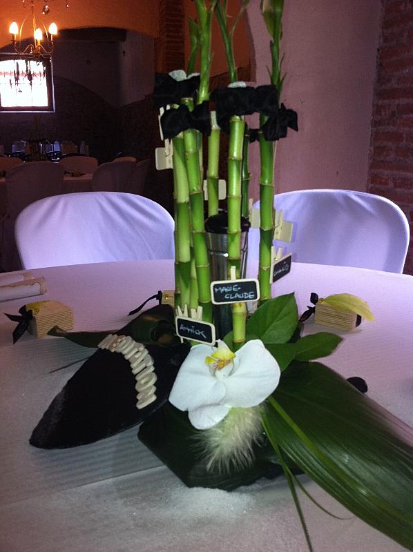 d coration mariage zen bambou id es et d 39 inspiration sur le mariage. Black Bedroom Furniture Sets. Home Design Ideas