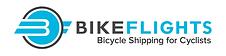 Bike Flght  logo  button