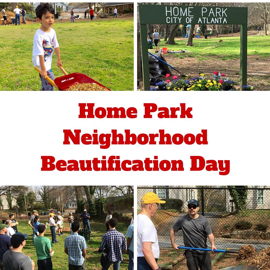 Home Park Neighborhood Beautification Day