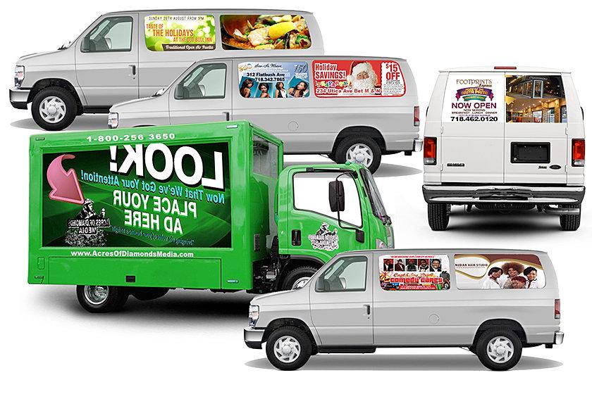 Elique Media Group Marketing Promotions New York Van