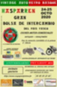 AFFICADO VINTAJE AUTO RETRO BASQUE 10-15