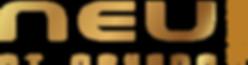 NEU logo with chinese name (Master Gold