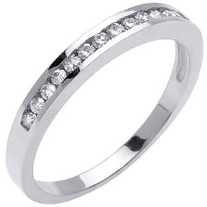 Diamond Wedding Bands Bague De Marriage Tresse
