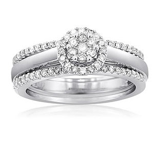 Diamond Bridal Set Rings Montreal Jewellers