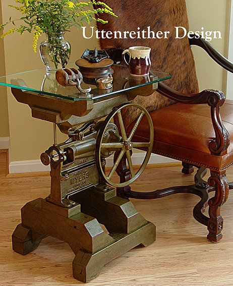Man Cave Antiques Artifacts : Uttenreither design
