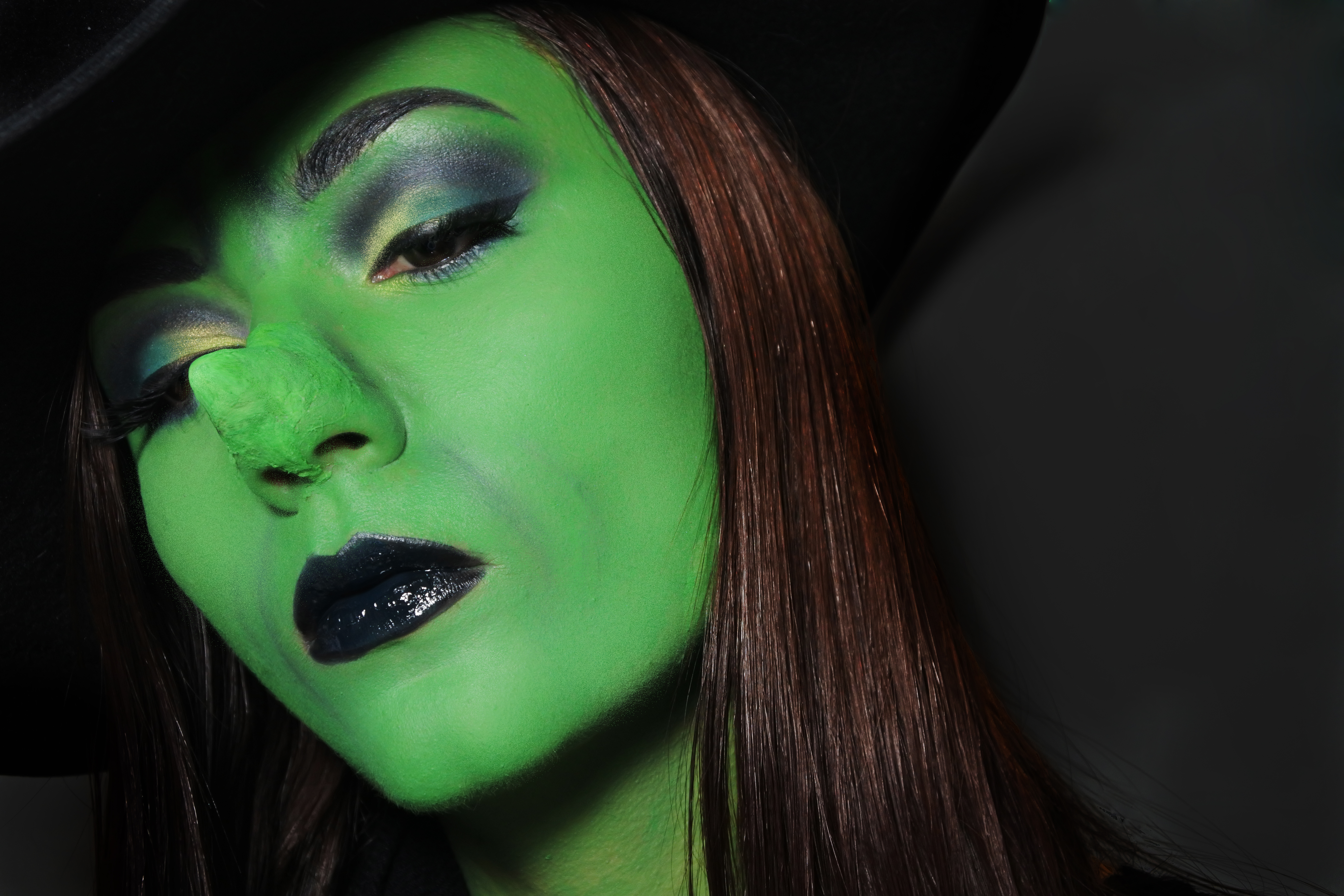 Como Maquillarse De Bruja Mala Great Awesome Beautiful Gallery Of