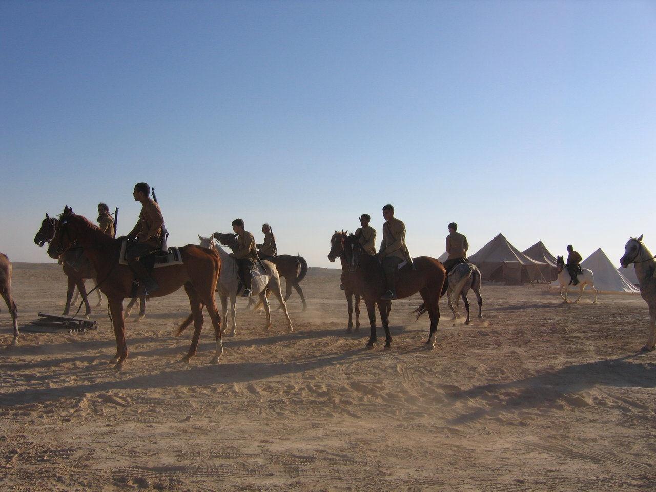 Rehearsing in the desert