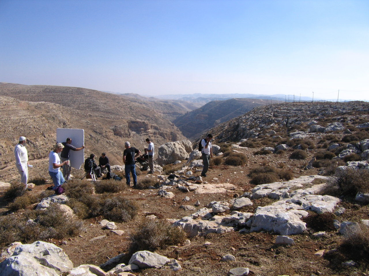 On location in Israel