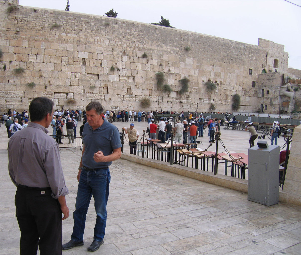 On location in Jerusalem