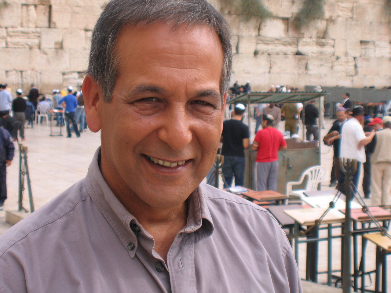 Michael Greenspan in Jerusalem